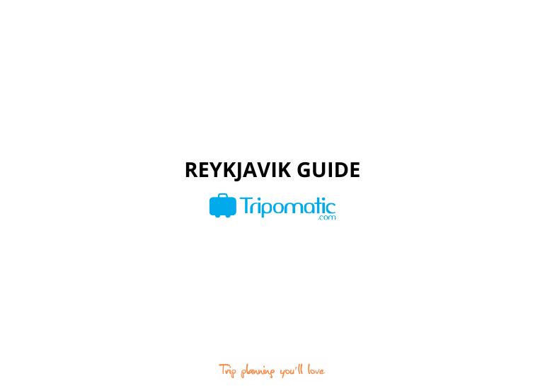 Tripomatic free city guide reykjavik