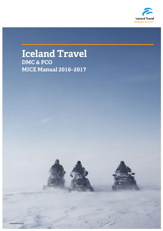 Iceland travel mice manual 2016-2017