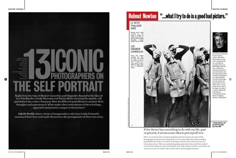 13 iconic Photographers on the self portrait