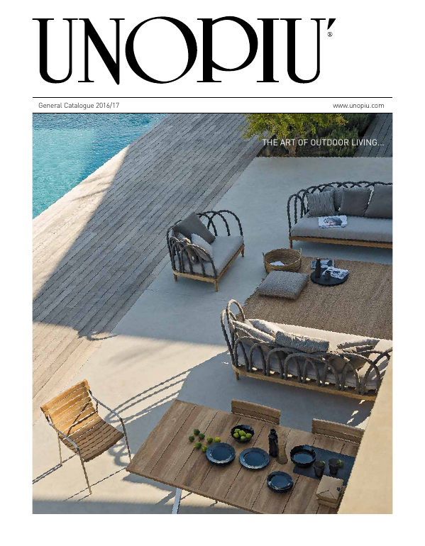 Catalogue general unopiu int 2016