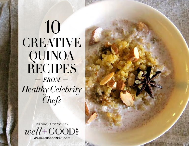 Well and good quinoa cookbook