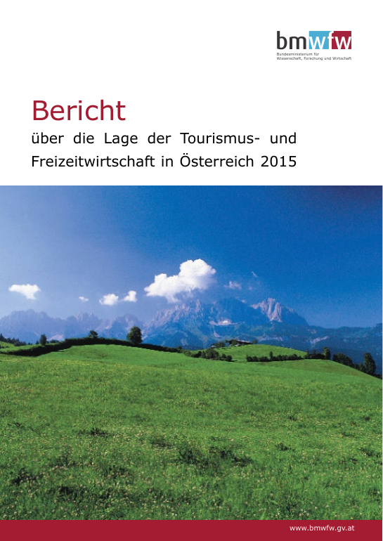 Tourism in Austria 2015