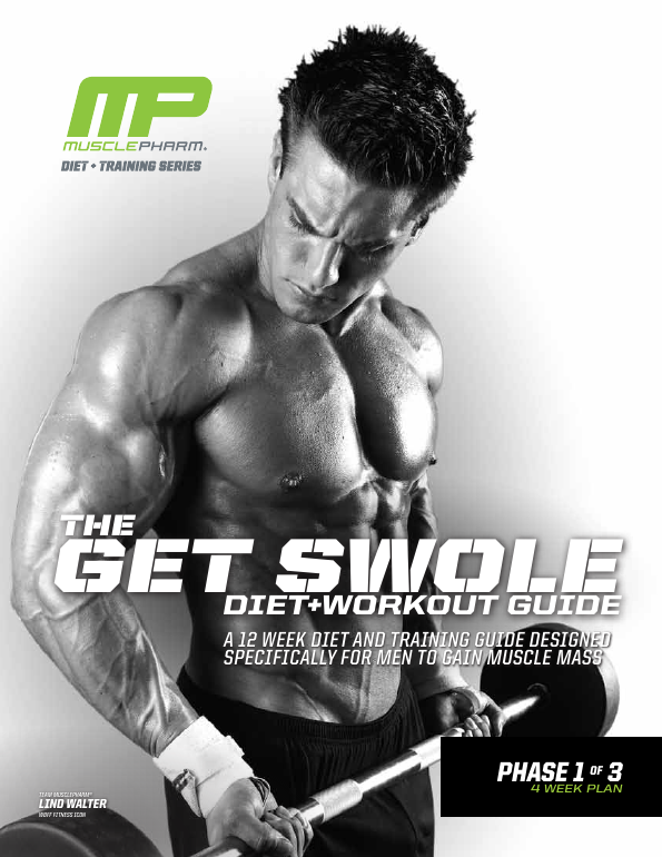 Musclepharm - Diet and training series