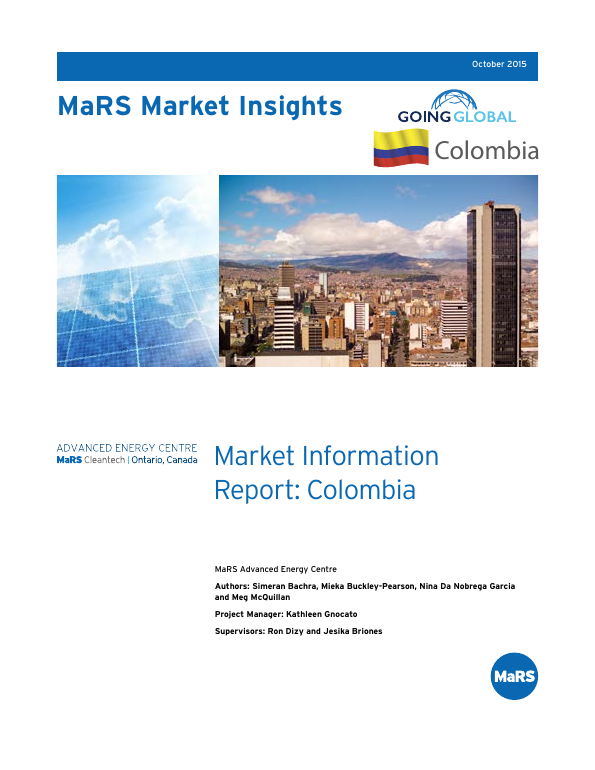 Mars market insights: market information report colombia