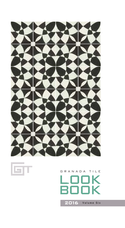 Granada Tile Lookbook volume 6