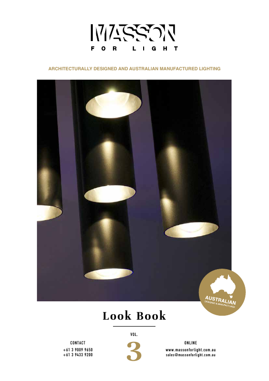 Masson for light lookbook 2016