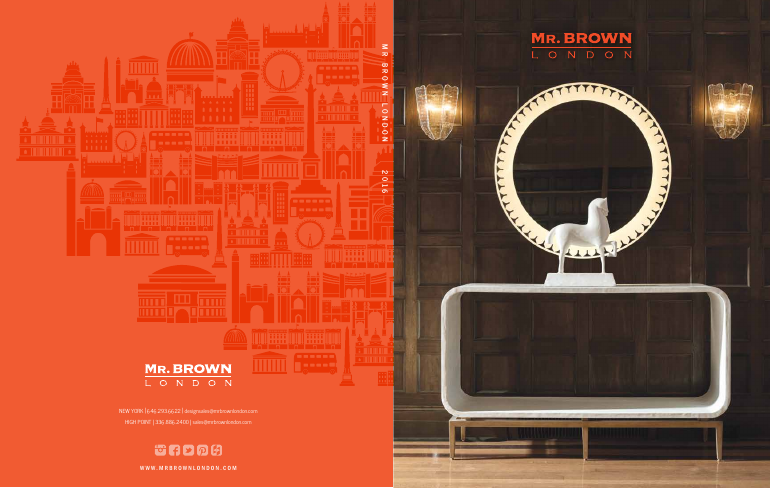 Mr. Brown London catalogue 2016