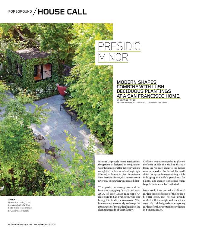 Slla Landscape Architecture Magazine