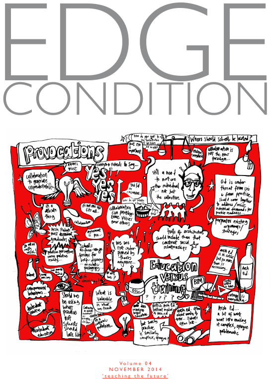 EDGE Condition Magazine Vol 4: Teaching the future