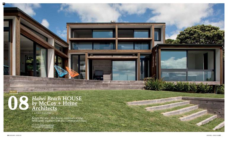 Hahei Beach House by McCoy + Heine Architects
