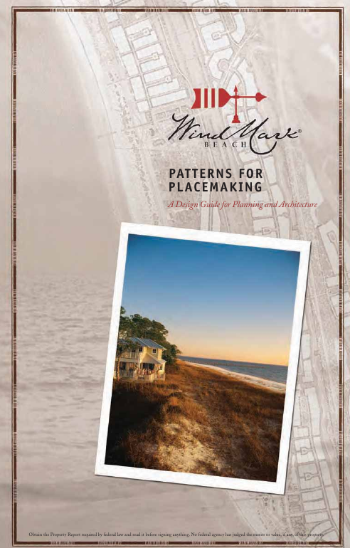 Wind Mark Beach pattern book