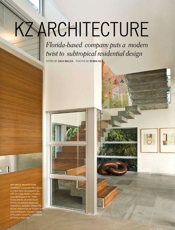 Luxury home quarterly: KZ Architecture