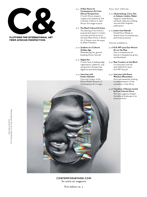 C& Art Magazine: Platform for international Art from African Perspectives Edition 2