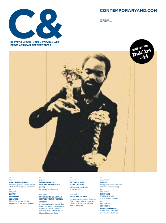 C& Art Magazine: Platform for international Art from African Perspectives Edition 1