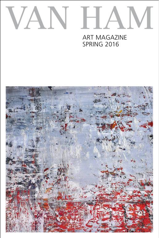 Van Ham Art Magazine spring 2016