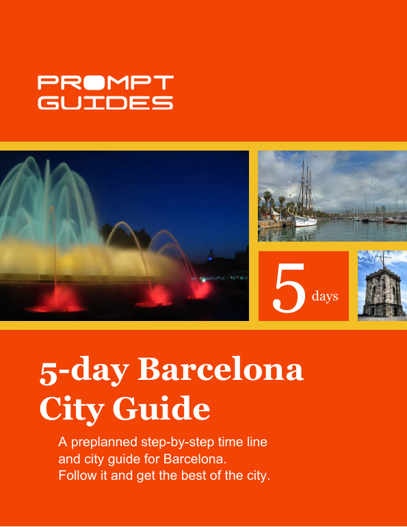 5 day Barcelona City Guide