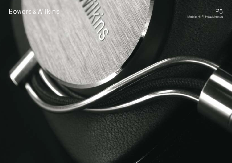 Bowers and Wilkins brochure