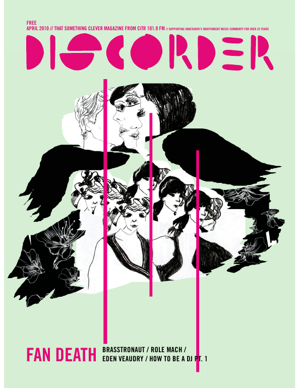 Discorder Magazine April 2010