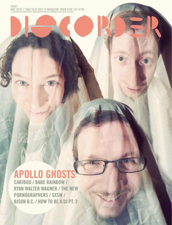 Discorder Magazine May 2010