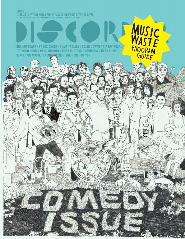 Discorder Magazine June 2010