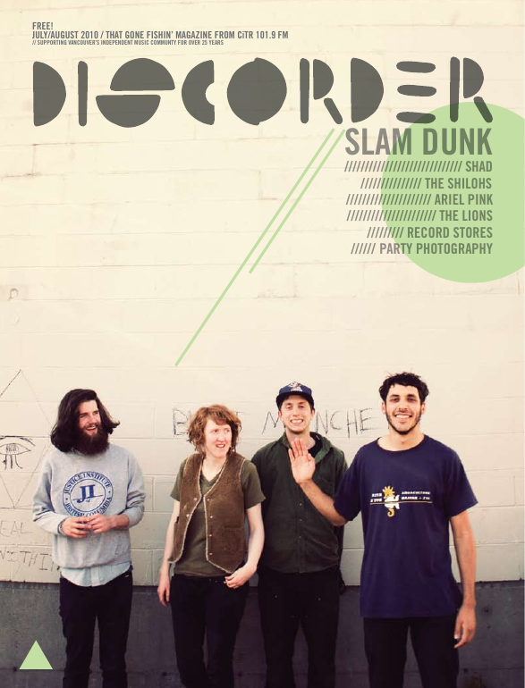 Discorder Magazine July - August 2010