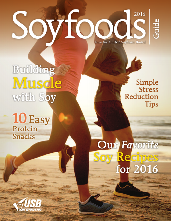 Soy foods from the United Soybean Board