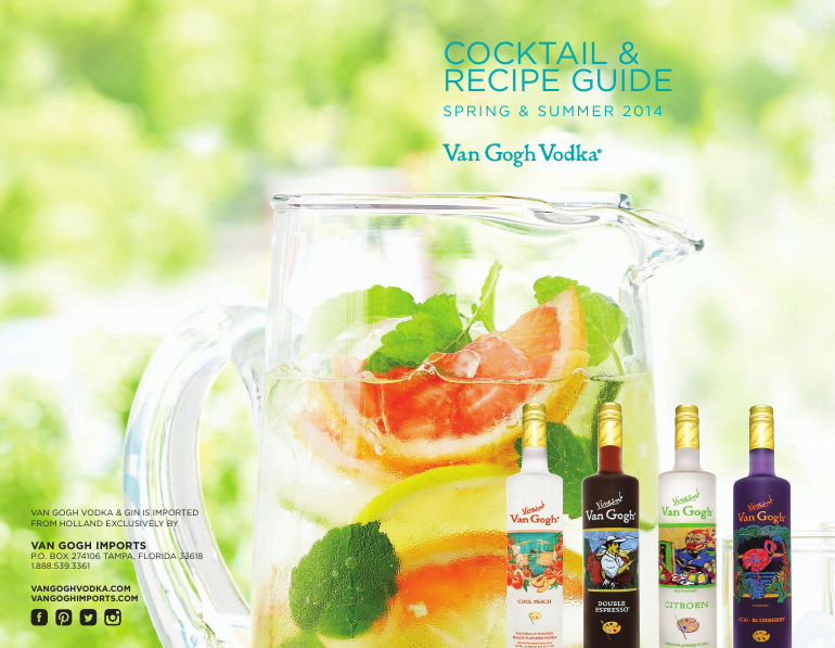 Cocktail & Recipe Guide