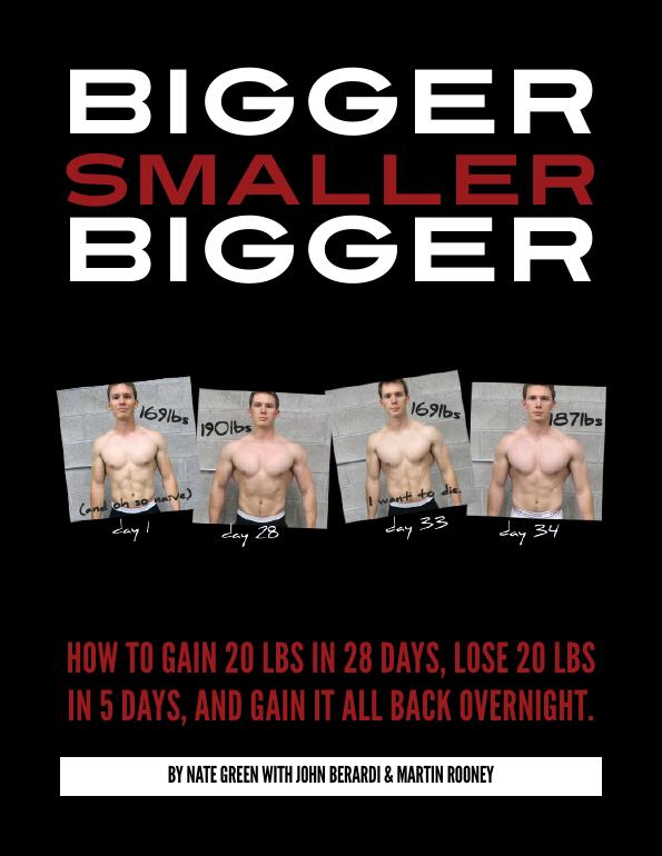 Bigger smaller bigger