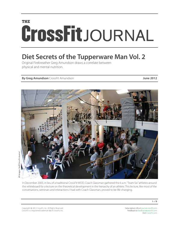 The CrossFit Journal