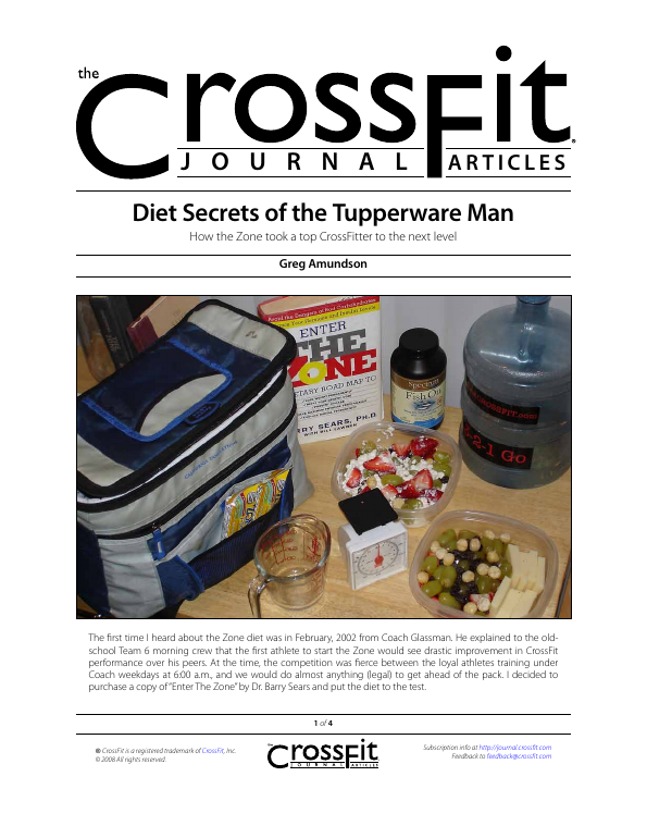 The CrossFit Journal Articles