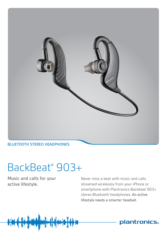 Plantronics backbeat903plus