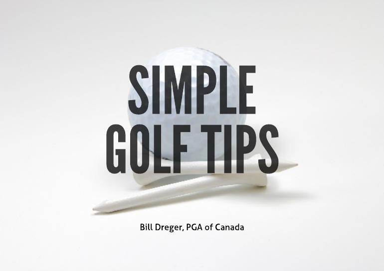 Simple golf tips e book