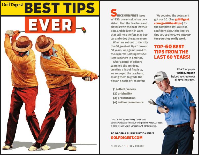 GolfDigest Best tips ever
