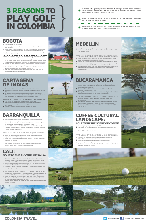 3 REASONS TO PLAY GOLF IN COLOMBIA