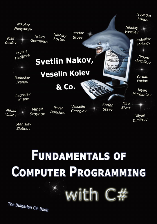 Fundamentals of computer programming with csharp nakov ebook v2013