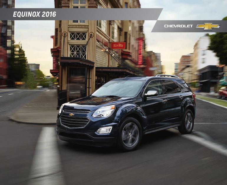 Chevrolet equinox brochure 2016