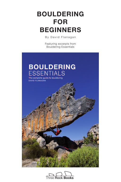 Bouldering for beginners