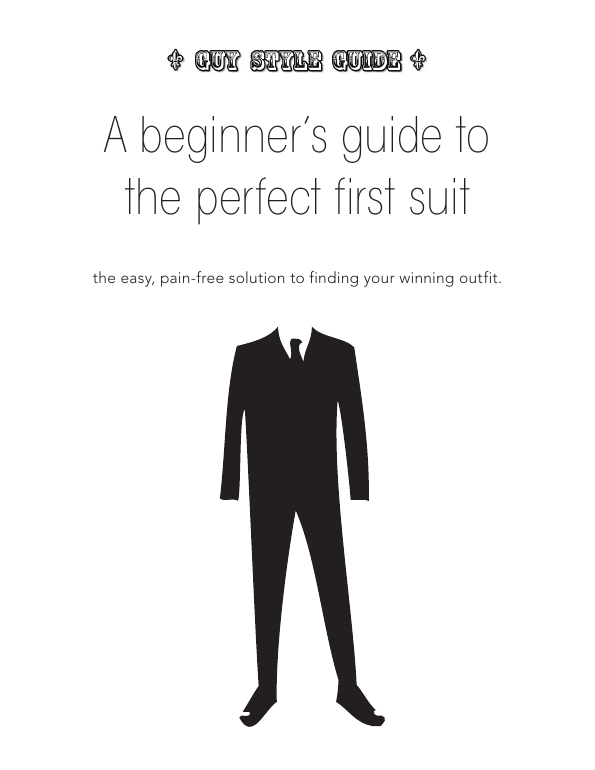 A beginner's guide to the perfect first suit