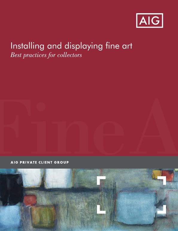 Installing and displaying fine art