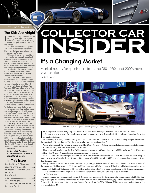 Collector Car Insider
