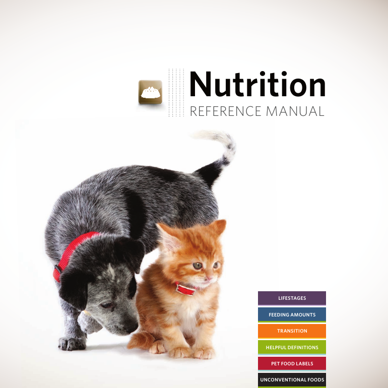 Pet nutrition reference manual