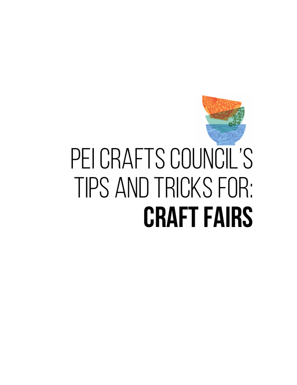 Tips and tricks for craft fairs