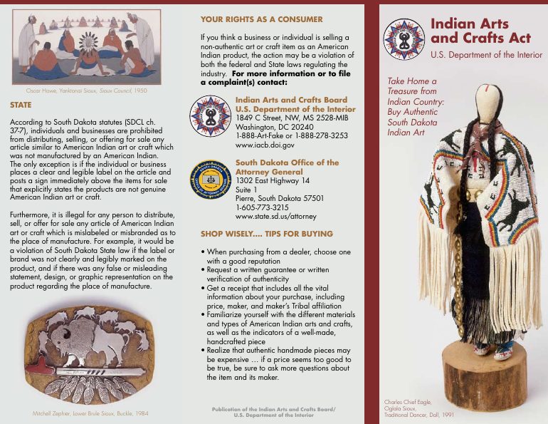 Indian Arts and Crafts Act