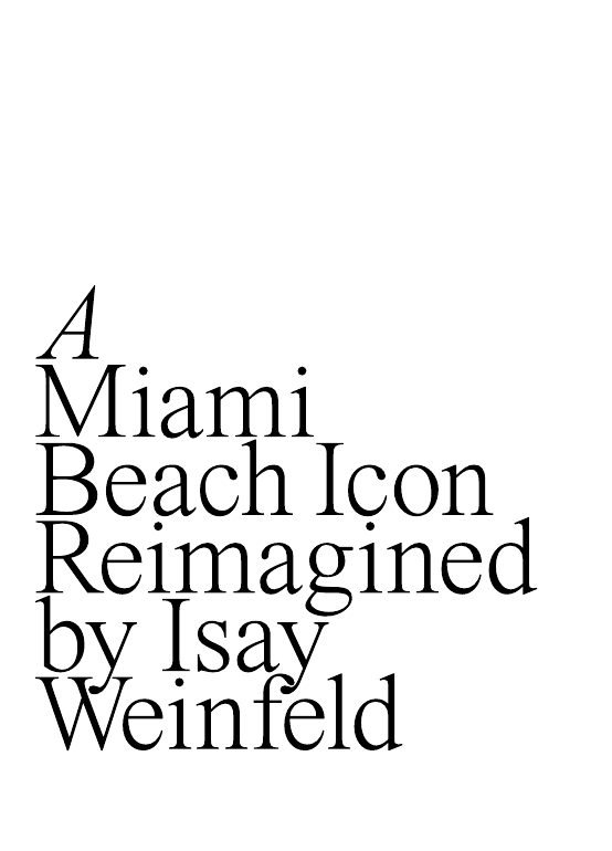 A Miami Beach Icon Reimagined by Isay Weinfeld