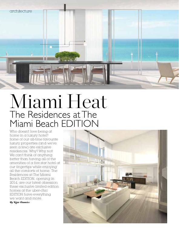 Edition miami residences