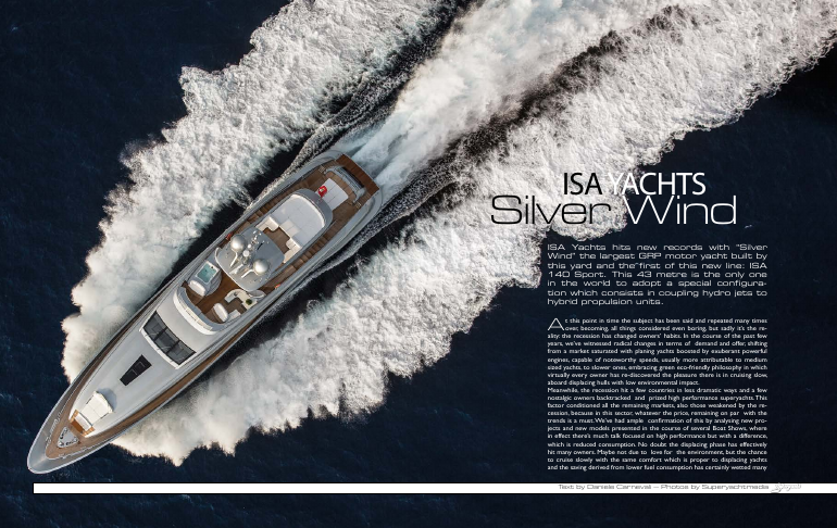 ISA Yachts: Superyacht Silver Wind