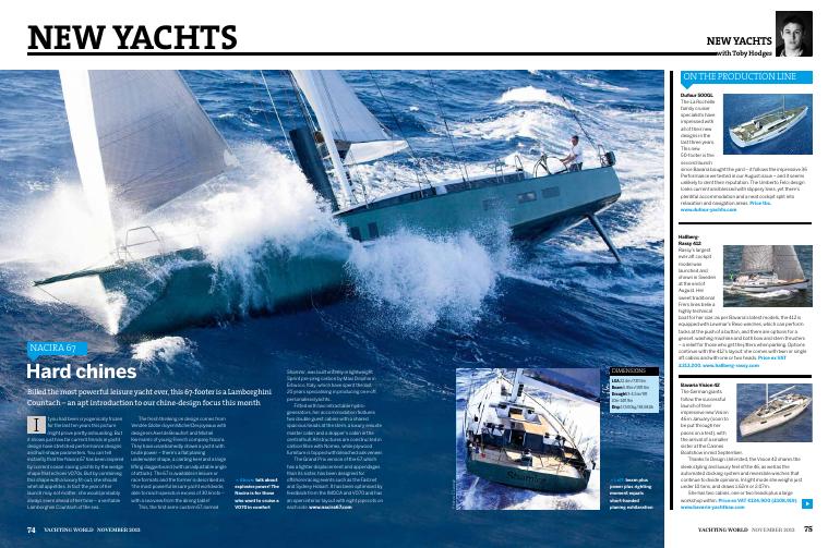 New Yachts: Nacira 67