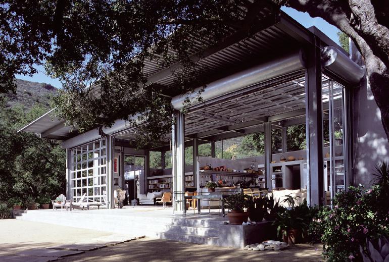 HOUSE AND STUDIO AT TORO CANYON, Montecito