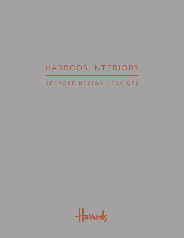 Harrods interiors brochure