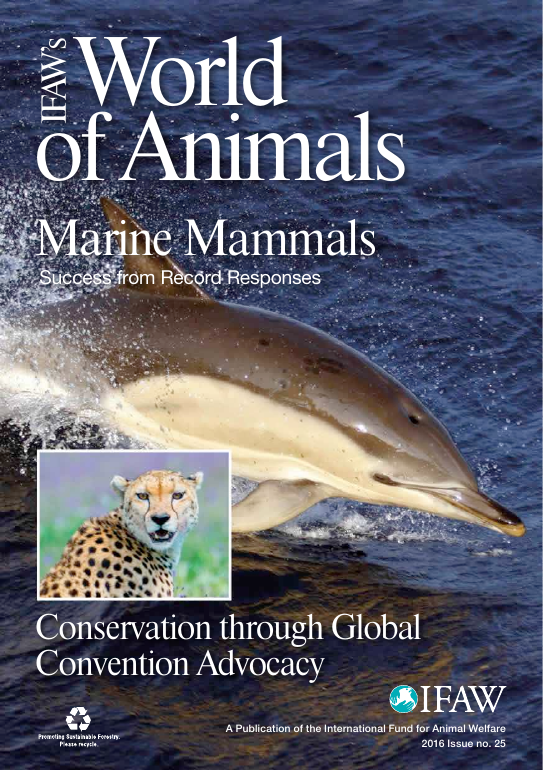 IFAW's World of Animals issue 25